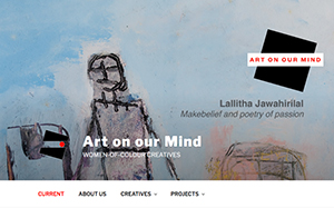 Art on our Mind website